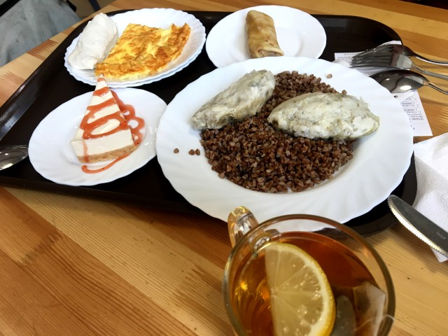 Плотный завтрак на 350 р.