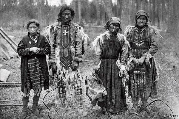 Старое фото эвенков