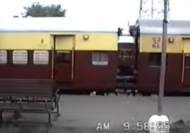 Платформа на станции New Delhi