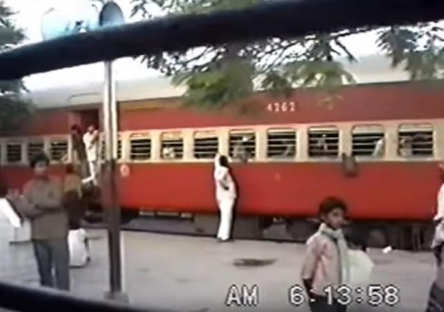 Прибытие поезда