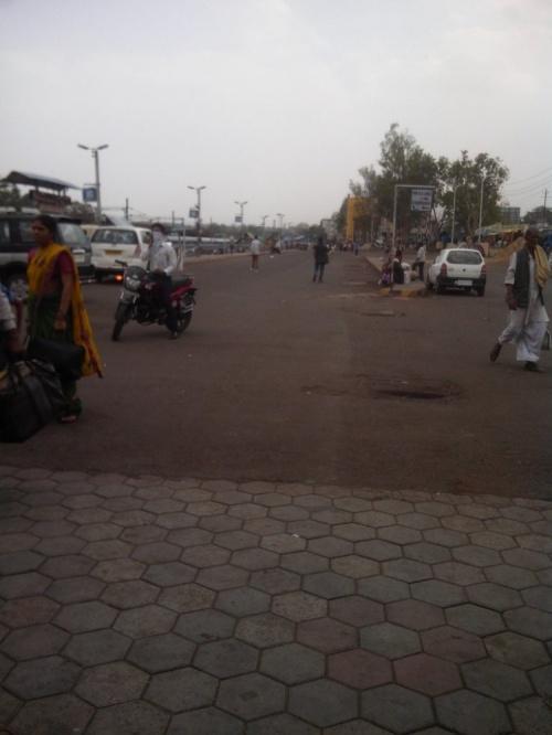 Привокзальная площадь в Бхопале