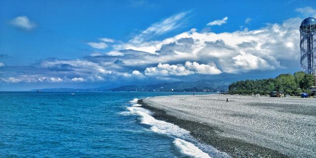 Черноморское побережье до нашествия туристов