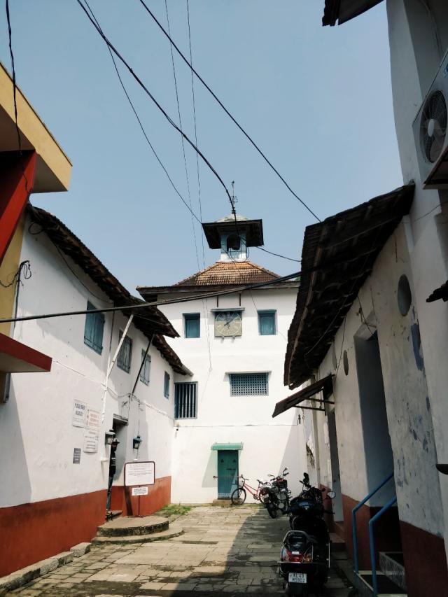 Древнейшая синагога в Индии (1567г)