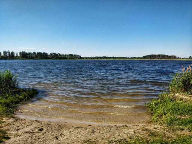 """Озеро моего детства, """"Святое"""", когда-то на месте озера стояла церковь с погостом"""