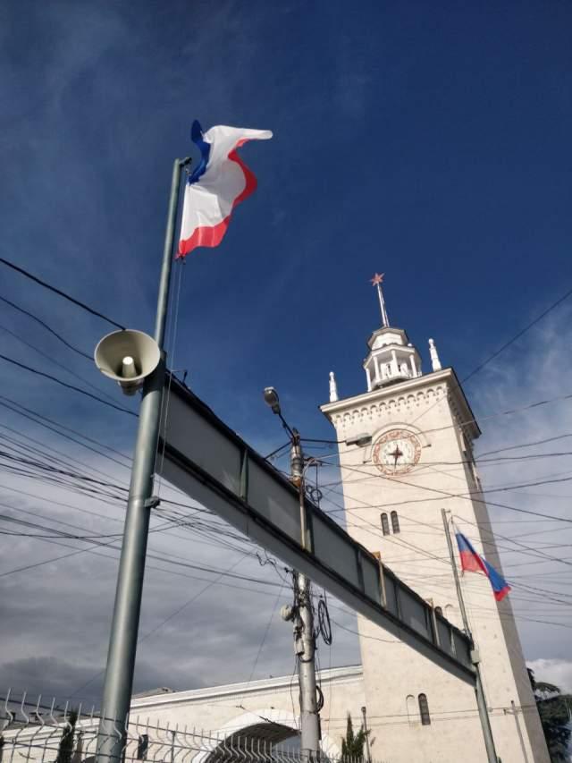 Главный ж/д вокзал Крыма