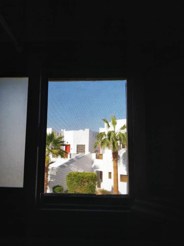 Вид из окна туалета