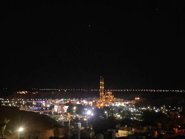 Ночной вид на Старый город