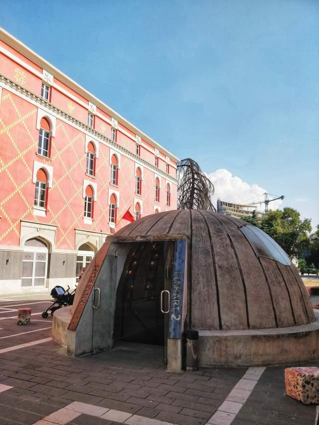 Вход в бункер-музей