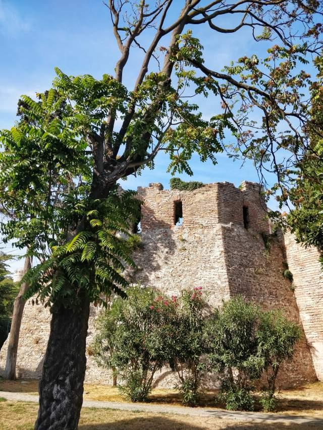 Византийские стены