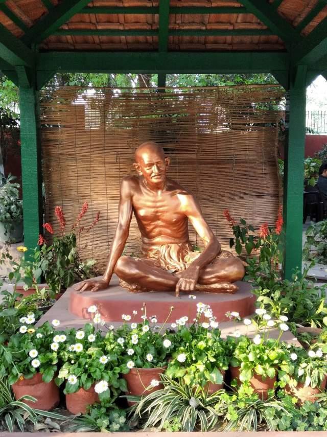 В музее Ганди