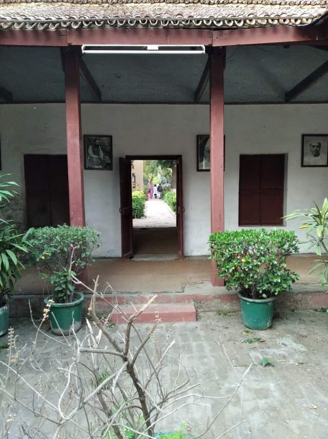 Воссозданный дом Ганди