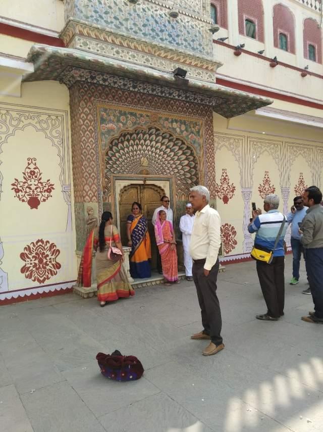 Индийские туристы