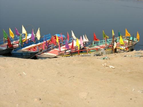 Лодки на Ямуне