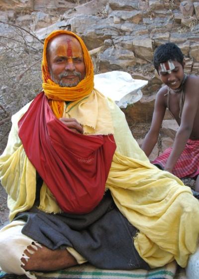 Медитирующий бабаджи