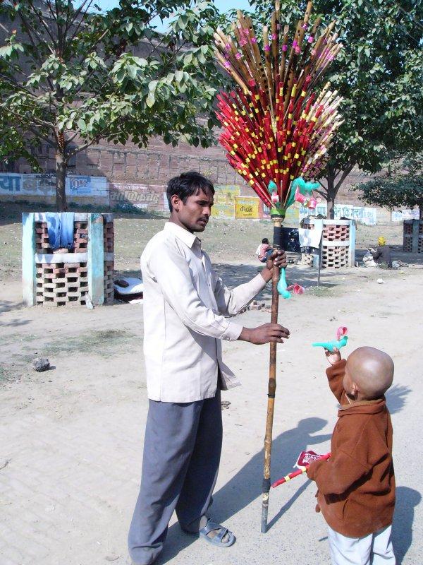 продавец флейт (Иллахабад)