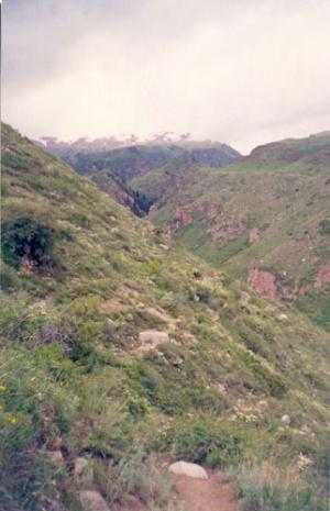 Горы Иссык-Куля.