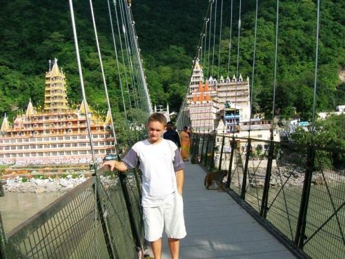 Мост в Ришикеше