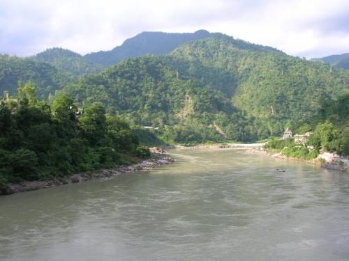 Ганг , вид с моста