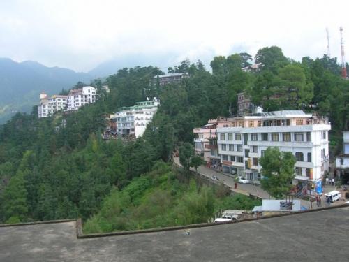 Вид из резиденции Далай-ламы
