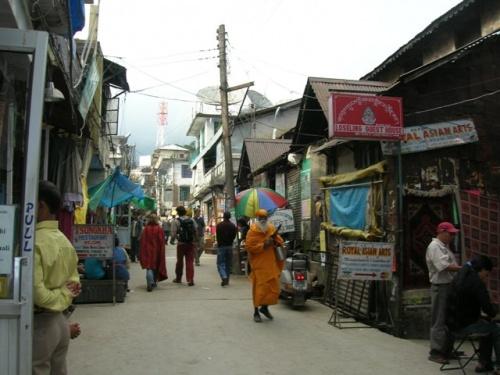 Улочки Дхарамасалы