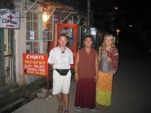 Словили тибетца и заставили фотографироваться :)