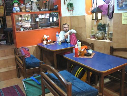 Муни в ресторане Апсара.
