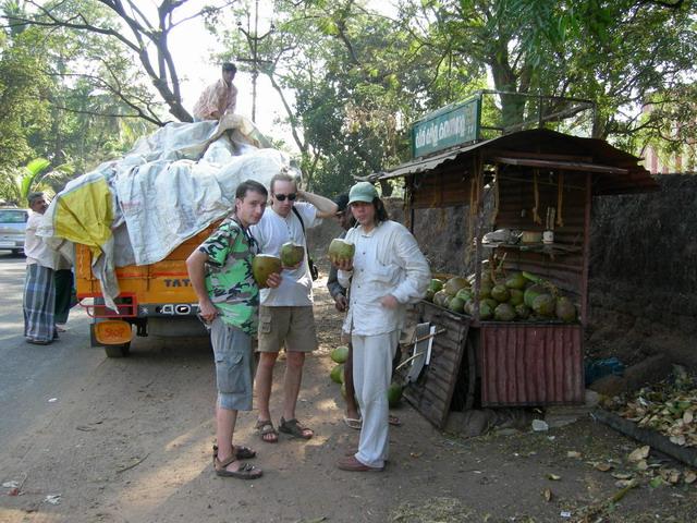 Кокосы - пища путешественника.
