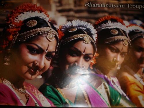 Танцовщицы БхаратНатьям