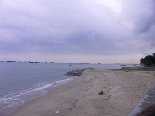Вид на море с Ист кост набережной