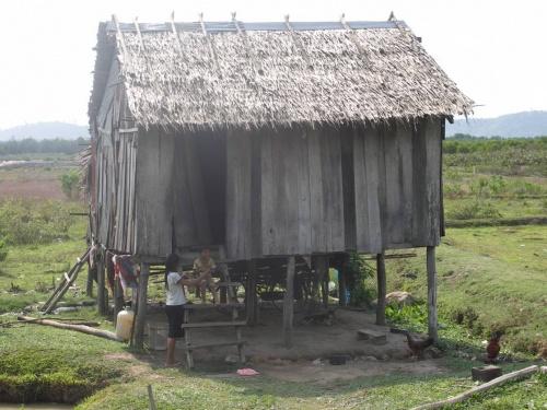 жилище кхмеров