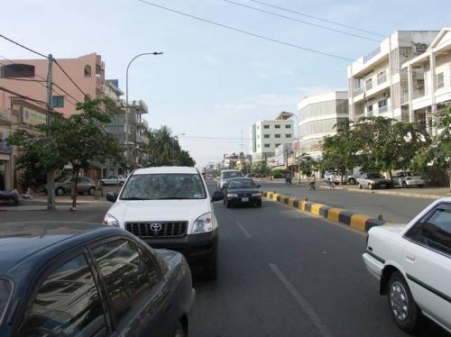 Одна из главных улиц Пном Пеня