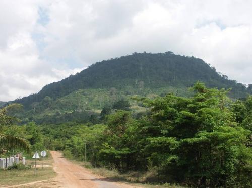 въезд в национальный парк Пном Бокор