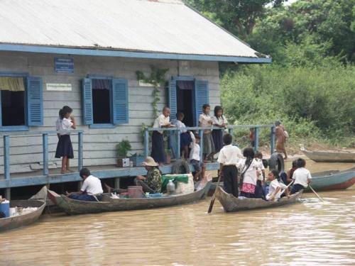 школа на воде