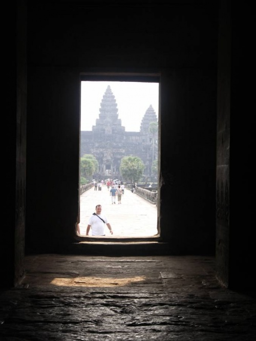 Ангкор Ват.  На пороге...