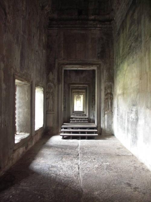 Коридоры Ангкор Вата