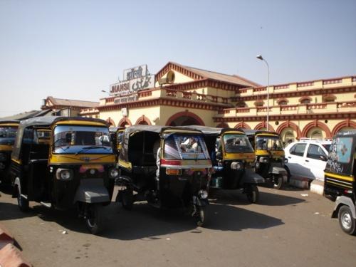 Вокзал в Джханси