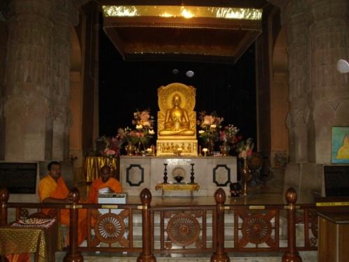 Буддийский храм (внутренняя часть)