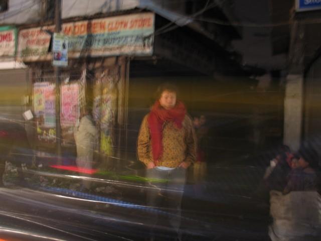 Main Bazar. ночь