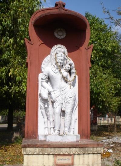 Шива в виде мужчины и женщины (Ardhnareshwar)