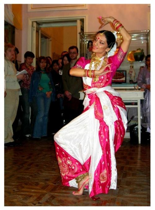 Джая.МАНГАЛАЧАР.Танец,посвященный Ганеше