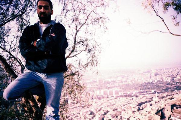 вид на Дамаск с горы Касьюн
