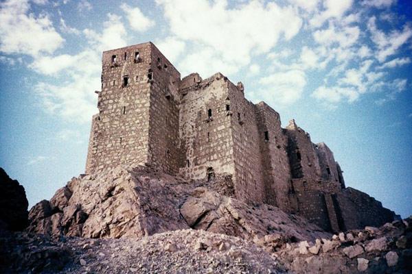 крепость Qalaat ibn Maan в Пальмире