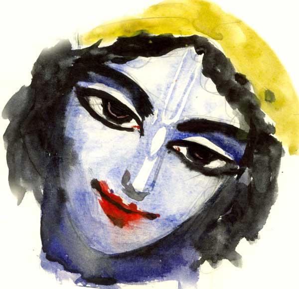 глазастый Кришна