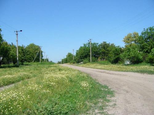 Терпенье - село в одну улицу.