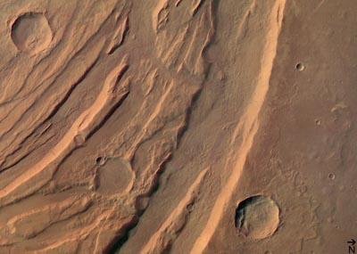 Безлюдные пейзажи Марса, фотографии