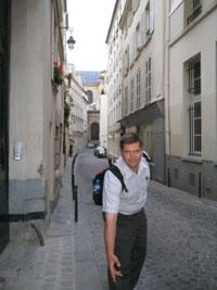 Улица, где д`Артаньян нарвался на три дуэли подряд
