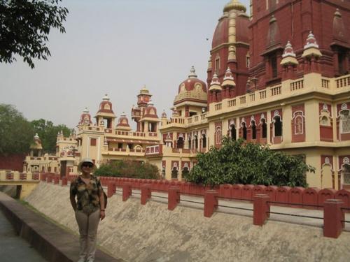 Храм Вишну в Дели