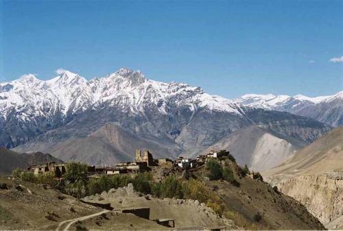 Селение Джаркот (3400 м)