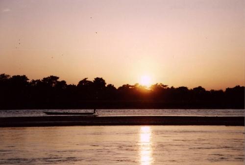 Закат в Читване