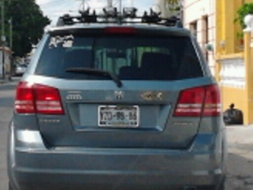 Здесь, в Мексике, очень любят Jesus. Имя его написано на тысячи машины. Есть и автобусы-церкви.